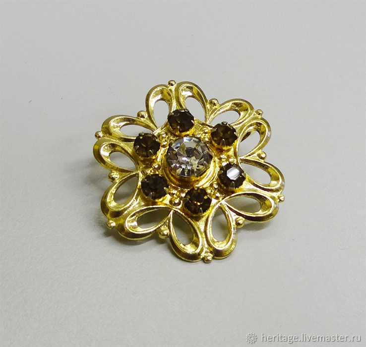 Vintage brooch, Vintage brooches, Moscow,  Фото №1