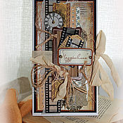 Открытки ручной работы. Ярмарка Мастеров - ручная работа Открытка для мужчин, мужской подарок. Handmade.