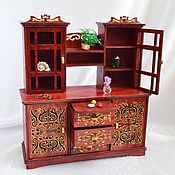 Куклы и игрушки handmade. Livemaster - original item A sideboard from a set of Furniture for dolls. Handmade.
