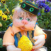 Куклы и игрушки ручной работы. Ярмарка Мастеров - ручная работа Текстильная игрушка Кот Казанский. Handmade.