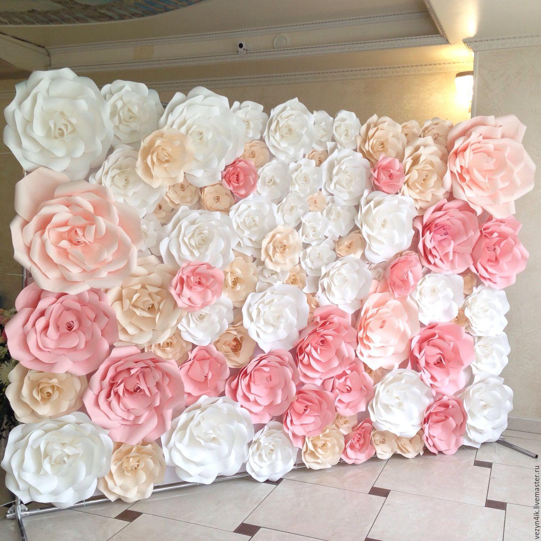 Панно из декоративные цветов своими руками: мастер 100