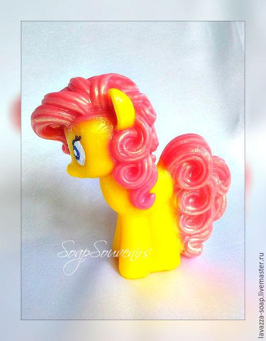 Мыло ручной работы. Ярмарка Мастеров - ручная работа. Купить Мыло My little pony. Handmade. Разноцветный, детям, купить мы