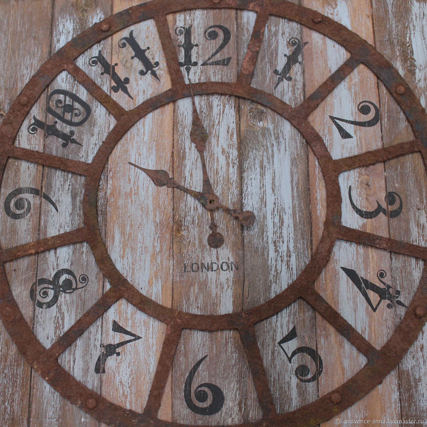 Wall clock Loft-style, Watch, Saratov,  Фото №1