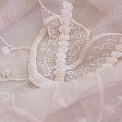 Аксессуары handmade. Livemaster - original item Exclusive silk embroidered handkerchief made of Gucci fabric dusty rose. Handmade.
