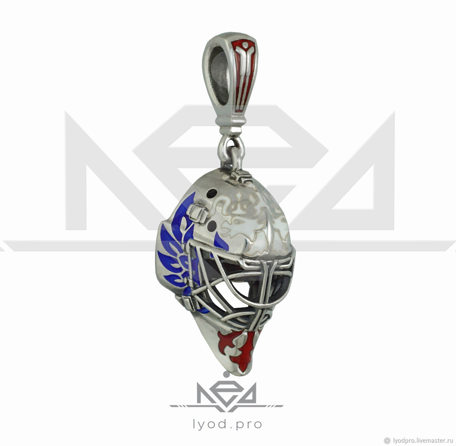 GOALIE MASK PENDANT TEAM RUSSIA, Pendants, St. Petersburg,  Фото №1