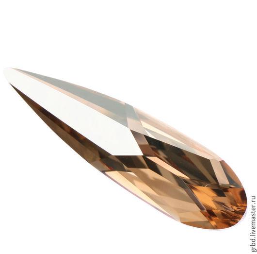 Для украшений ручной работы. Ярмарка Мастеров - ручная работа. Купить Raindrop 30 мм - Golden Shadow. Handmade.