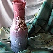 """Для дома и интерьера ручной работы. Ярмарка Мастеров - ручная работа Ваза """"Part of the whol"""" розовая.. Handmade."""