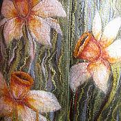 """Одежда ручной работы. Ярмарка Мастеров - ручная работа пальто валяное из войлока """"Апрель"""". Handmade."""