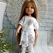 Одежда для кукол ручной работы. Ярмарка Мастеров - ручная работа Стильный костюмчик для Паола Рейна. Handmade.