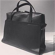 Сумки и аксессуары handmade. Livemaster - original item Handmade leather handbag art 160 Cosm Old Black. Handmade.