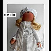 Куклы и игрушки ручной работы. Ярмарка Мастеров - ручная работа Снежная девочка. Handmade.