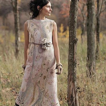 """Одежда ручной работы. Ярмарка Мастеров - ручная работа платье """"молочные реки.."""". Handmade."""