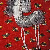 Новогодние сувениры ручной работы. Ярмарка Мастеров - ручная работа Блестящая лошадка. Handmade.