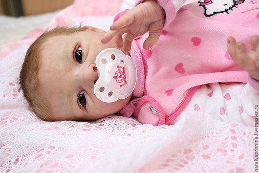 Куклы-младенцы и reborn ручной работы. Ярмарка Мастеров - ручная работа. Купить Малышка реборн Эммушка. Handmade. Кукла, мохер