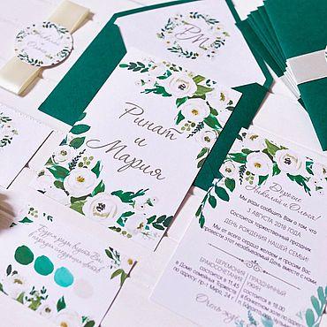 Свадебный салон ручной работы. Ярмарка Мастеров - ручная работа Emerald. Handmade.