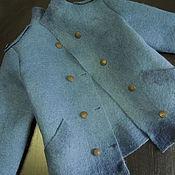 Пиджаки ручной работы. Ярмарка Мастеров - ручная работа Валяный жакет. Handmade.