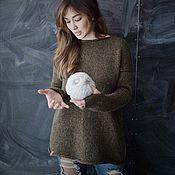 Одежда ручной работы. Ярмарка Мастеров - ручная работа Пуловер Vera. Handmade.