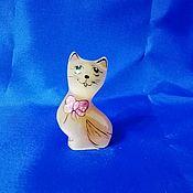 Для дома и интерьера handmade. Livemaster - original item The cat is made of natural Ural ornamental stones Selenite. Handmade.