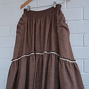 Одежда handmade. Livemaster - original item A set of skirts to the floor
