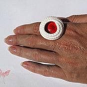 """Украшения ручной работы. Ярмарка Мастеров - ручная работа Кольцо """"Глаз дракона"""". Handmade."""