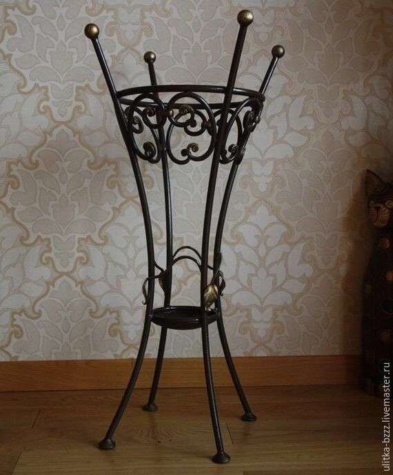 Wrought Iron Umbrella Stand Shop Online On Livemaster With
