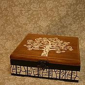 """Подарки к праздникам ручной работы. Ярмарка Мастеров - ручная работа """"Древо преображения""""  Шкатулка для украшений. Handmade."""