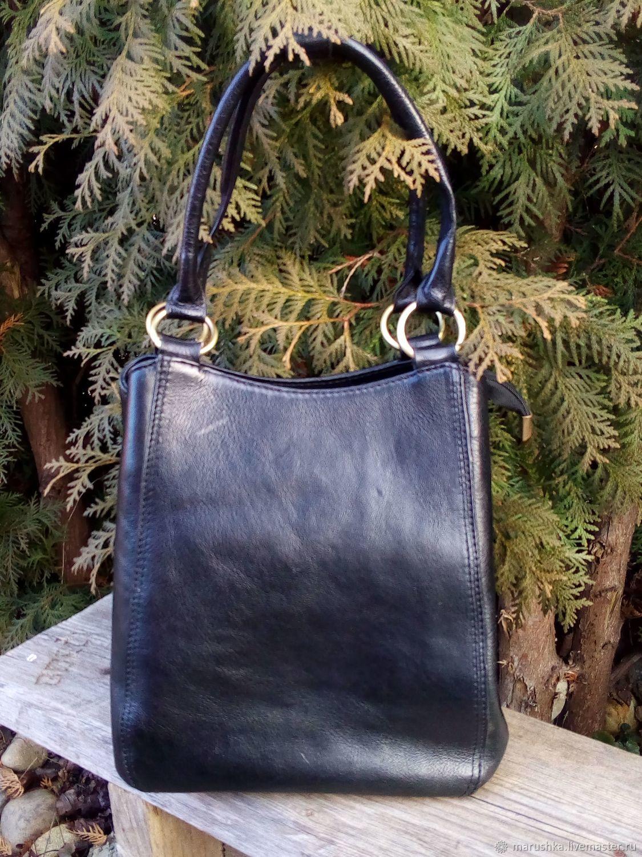 495457b73801 ... натуральной кожи, Италия. Винтажные сумки и кошельки. Ярмарка Мастеров  - ручная работа. Купить Винтаж: Сумка из ...