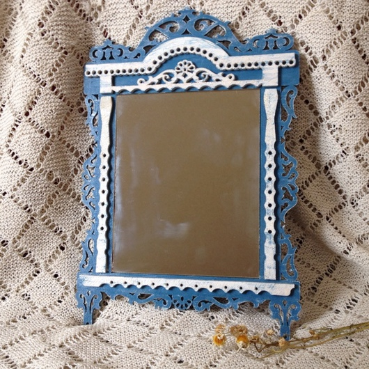 """Зеркала ручной работы. Ярмарка Мастеров - ручная работа. Купить Зеркало """"Окошко"""". Handmade. Зеркало, зеркало ручной работы"""
