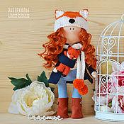 Куклы и игрушки ручной работы. Ярмарка Мастеров - ручная работа Интерьерная кукла Лисичка. Handmade.