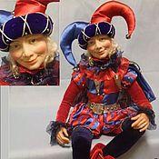 """Куклы и игрушки ручной работы. Ярмарка Мастеров - ручная работа """"Арлекин"""". Handmade."""