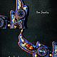 Колье, бусы ручной работы. колье Дикая Охота. Ярина Яриловец (dee-jewelry). Ярмарка Мастеров. Вышивка бисером, подарок