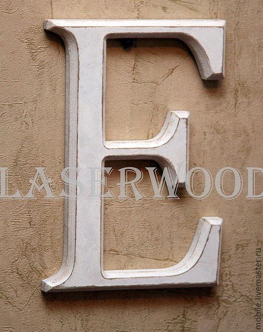 Интерьерные слова ручной работы. Ярмарка Мастеров - ручная работа. Купить Буквы из дерева. Handmade. Буквы из древа, деревянная вывеска