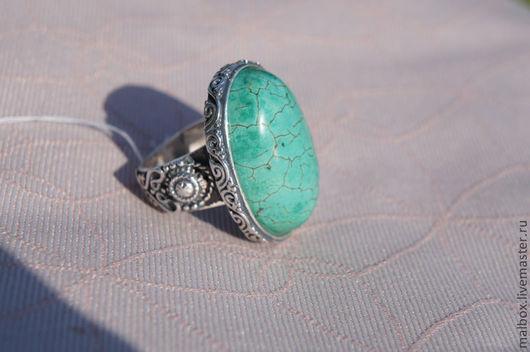 """Кольца ручной работы. Ярмарка Мастеров - ручная работа. Купить Кольцо """"Махараджа"""". Handmade. Бирюза, серебро"""