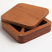 handmade. Livemaster - original item Wedding square ring box. Handmade.