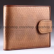 Сумки и аксессуары handmade. Livemaster - original item Wallet leather sea snake IML0001UK. Handmade.