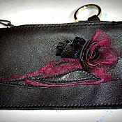Сумки и аксессуары handmade. Livemaster - original item Leather keychain gift .. Handmade.