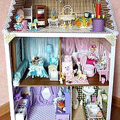 Куклы и игрушки ручной работы. Ярмарка Мастеров - ручная работа Кукольный дом.. Handmade.