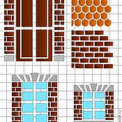 Материалы для творчества ручной работы. Ярмарка Мастеров - ручная работа Трафарет для чайного домика А5. Handmade.