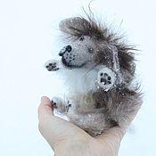Stuffed Toys handmade. Livemaster - original item Dog. dog. Wool. Handmade.