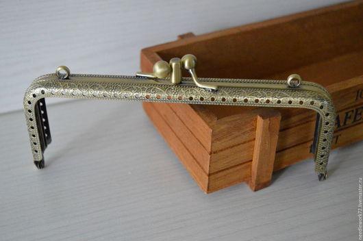 Другие виды рукоделия ручной работы. Ярмарка Мастеров - ручная работа. Купить Фермуар рамочный замок пришивной двойной. Handmade.