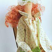 Куклы и игрушки ручной работы. Ярмарка Мастеров - ручная работа Кукла Тильда. Модница Оливия. Handmade.