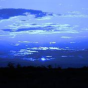 """Картины и панно ручной работы. Ярмарка Мастеров - ручная работа Фотокартина """"Закат 1"""". Handmade."""