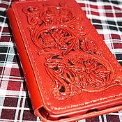 Сумки и аксессуары handmade. Livemaster - original item Phone case red. Handmade.