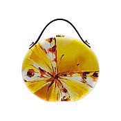 Сумки и аксессуары handmade. Livemaster - original item Bag Butterfly wood painting. Handmade.