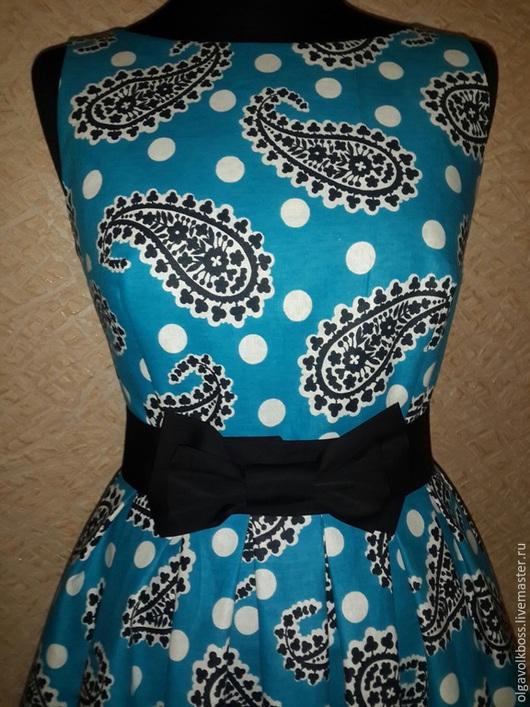 Платья ручной работы. Ярмарка Мастеров - ручная работа. Купить Платье Варда. Handmade. Тёмно-бирюзовый, платье на каждый день