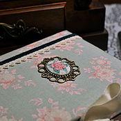 """Канцелярские товары ручной работы. Ярмарка Мастеров - ручная работа Блокнот ручной работы """"Розовый сад"""". Handmade."""