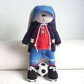 Куклы и игрушки ручной работы. Ярмарка Мастеров - ручная работа Футболист. Handmade.