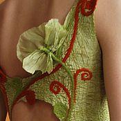 """Одежда ручной работы. Ярмарка Мастеров - ручная работа Платье из шёлка """"Летом"""". Handmade."""