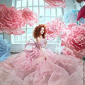 Свадебный салон ручной работы. Ярмарка Мастеров - ручная работа Соцветия роз. Handmade.