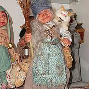 Куклы и игрушки ручной работы. Ярмарка Мастеров - ручная работа Баба Яга.. Handmade.